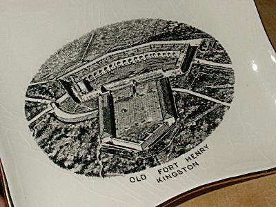 Souvenir China Old Fort Henry Kingston Ontario Canada Royal Winton (Image1)