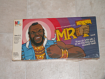 Vintage Never Opened 1983 Mr. T Board Game Milton Bradley Tv Show