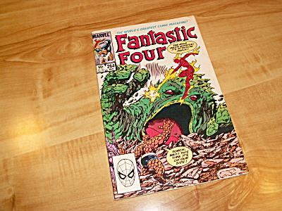 Marvel Comics Group Fantastic Four Comic Book 1984 #264 Mole Man (Image1)