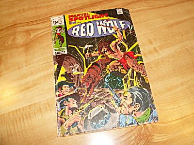 Marvel Comics Group Spotlight on Red Wolf Comic Book Nov 1971 #1 (Image1)