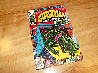 Marvel Comics Group Godzilla King of the Monsters Comic Book 1978 #6 (Image1)
