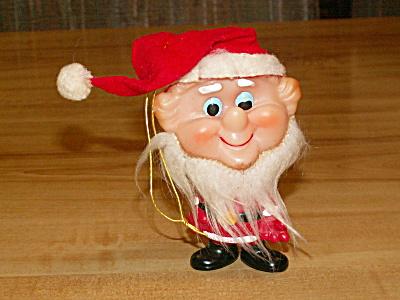 1950s/60s Ninohira Japan Elf Santa Claus Christmas Ornament Figure (Image1)