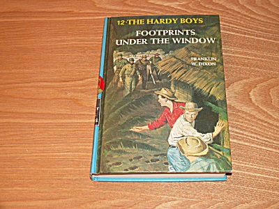The Hardy Boys Series, Footprints Under the Window, Book #12, A (Image1)