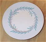 Click to view larger image of Set of 2 Minton Mintons Malta Turquoise Blue Bread & Butter Plates (Image1)