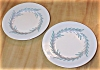 Click to view larger image of Set of 2 Minton Mintons Malta Turquoise Blue Bread & Butter Plates (Image2)