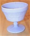 Click to view larger image of Jeannette Glass Doric Delphite Blue Depression Glass Sherbert (Image1)