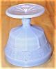 Click to view larger image of Jeannette Glass Doric Delphite Blue Depression Glass Sherbert (Image3)