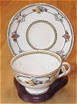 Click here to enlarge image and see more about item 1037: Vintage Adderley Adderleys Montroyal Tea Cup & Saucer