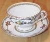 Click to view larger image of Vintage Adderley Adderleys Montroyal Tea Cup & Saucer (Image2)