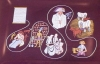 Click to view larger image of 1962 Coats & Clark 150th Anniversary Decorated Glass Tray (Image2)
