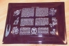 Click to view larger image of 1962 Coats & Clark 150th Anniversary Decorated Glass Tray (Image3)