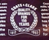 Click to view larger image of 1962 Coats & Clark 150th Anniversary Decorated Glass Tray (Image5)