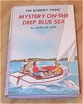 Click here to enlarge image and see more about item 1132: The Bobbsey Twins Mystery on the Deep Blue Sea Book #11