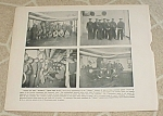 Click here to enlarge image and see more about item 1207: 1898 Spanish American War Naval Print, USS Maine Crew; Havana Harbor