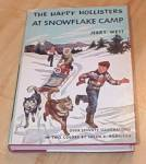 Click here to enlarge image and see more about item 1390: The Happy Hollisters at Snowflake Camp Book
