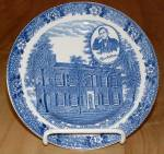 Click to view larger image of Souvenir China Adams My Old KY Home Plate, Bardstown, Stephen Foster (Image2)