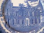 Click to view larger image of Souvenir China Adams My Old KY Home Plate, Bardstown, Stephen Foster (Image3)