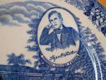 Click to view larger image of Souvenir China Adams My Old KY Home Plate, Bardstown, Stephen Foster (Image4)