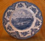 Click here to enlarge image and see more about item 1418: Johnson Brothers China England Old Britain Castles 8 7/8 Inch Plates