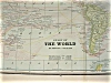 Click to view larger image of Original 1893 Antique Map of the World; World Antique Map (Image2)