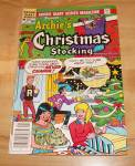 Click here to enlarge image and see more about item 1484: Archie Giant Series: Archie's Christmas Stocking Comic Book No. 524
