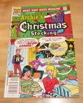 Click here to enlarge image and see more about item 1485: Archie Giant Series: Archie's Christmas Stocking Comic Book No. 524B