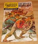 Click here to enlarge image and see more about item 1495: Classics Illustrated:  The Queen's Necklace Comic Book No. 165