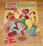 Click here to enlarge image and see more about item 1499: Classics Illustrated Junior:  Pinocchio Comic Book No. 513