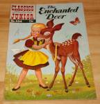 Click to view larger image of Classics Illustrated Jr. The Enchanted Deer Comic Book No. 553 1st Ed (Image1)