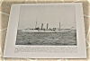 Click to view larger image of 1898 Naval Ship Antique Print, USS Chicago, USS Montgomery, U.S. Navy (Image2)