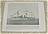 Click to view larger image of 1898 Naval Ship Print, USS Boston, USS San Francisco, U.S. Navy (Image2)