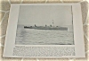 Click to view larger image of 1898 Naval Ship Antique Print, USS New York, Torpedo Boat, U.S. Navy (Image2)