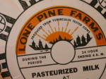 Click to view larger image of Flat Never Used Old Stock Milk Bottle Cap Lone Pine Farms Hanover NJ (Image5)