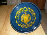 Click to view larger image of Vtg US Naval Academy Annapolis VA Navy Metal Beer Tray Seal Trident (Image5)