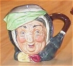 Click here to enlarge image and see more about item 23449: Small Royal Doulton China Toby Mug Character Jug Sairey Gamp
