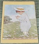 Click here to enlarge image and see more about item 23490: Jessie Willcox Smith Antique Print, She Lufs Me, Now-A-Days Fairy Book