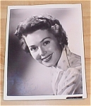 Click here to enlarge image and see more about item 23519: Barbara Rush Autograph Photo, Autographed Photo