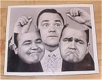 Click here to enlarge image and see more about item 23520: Jonathan Winters Autograph Photo, Autographed Photo