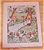 Click to view larger image of 1905 Ida May Rockwell Antique Flower Babies Book Print Dahlia & Clover (Image2)