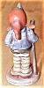 Click to view larger image of Antique Hummel Figurine Little Hiker #16 2/0 Full Bee TMK 2 (Image3)