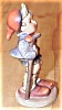 Click to view larger image of Antique Hummel Figurine Little Hiker #16 2/0 Full Bee TMK 2 (Image4)