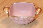 Click here to enlarge image and see more about item 23548: Stangl Pottery Golden Glo Pink & Gold Bowl, GG 3786