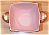 Click to view larger image of Stangl Pottery Golden Glo Pink & Gold Bowl, GG 3786 (Image2)