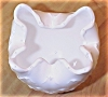Click to view larger image of Vintage Imperial Glass Milk Glass Rose Bowl (Image3)