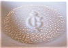 Click to view larger image of Vintage Imperial Glass Milk Glass Rose Bowl (Image5)