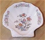 Click to view larger image of Lovely Vintage Wedgwood China Kutani Crane Shell Shaped Bowl Dish (Image1)