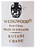 Click to view larger image of Lovely Vintage Wedgwood China Kutani Crane Shell Shaped Bowl Dish (Image5)