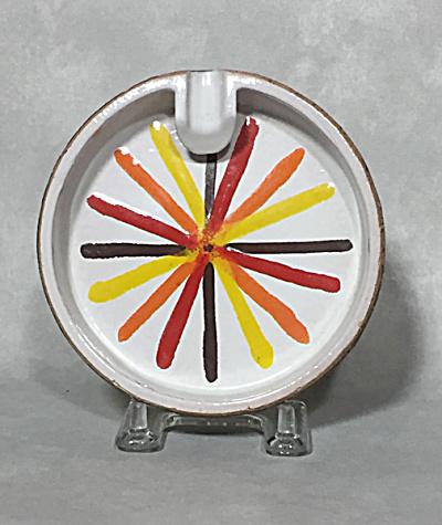 Bitossi Italy midcentury Cork Pop Art ashtray (Image1)