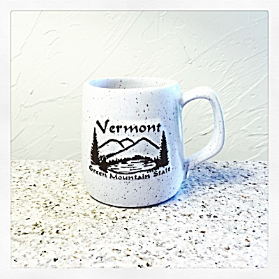 Onion River Pottery Vermont coffee mug (Image1)