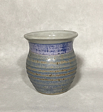 George Scatchard Midcentury blue rings small vase / mug (Image1)